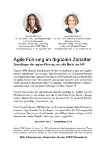 JMutzner agile Führung agile sales agile Kommunikation