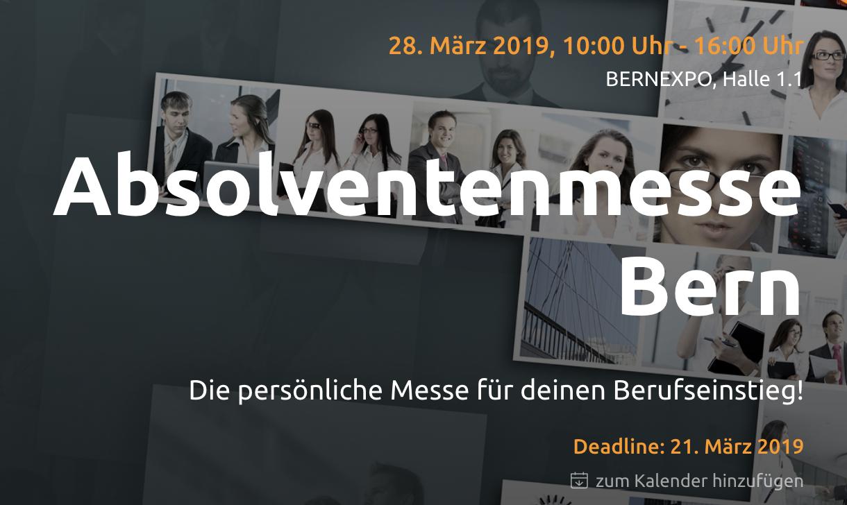 Absolventenmesse Bern LinkedIn Referat JMutzner